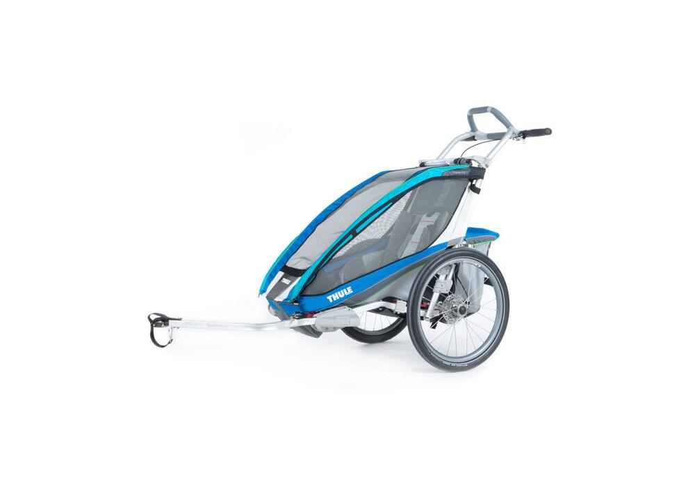 Remolque Thule Chariot Cx 1 Kit Para Bicicleta Azul
